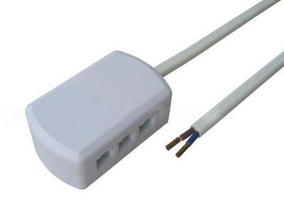 三口led分线盒 led三孔接线盒led三位分线盒xh接口分线器